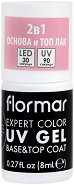 Flormar Expert Color UV Gel Base & Top Coat - База и топ гел лак 2 в 1 - крем