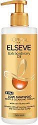 "Elseve Extraordinary Oil Nourishing Low Shampoo 3 in 1 Cleansing Cream - Шампоан без сулфати за суха коса от серията ""Extraordinary Oil"" -"