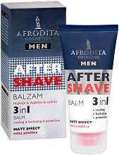 Afrodita Cosmetics Men After Shave 3 in 1 Balm - Балсам за след бръснене -