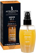 Afrodita Cosmetics Hair Professional Serum 10 in 1 Protection - Защитен серум за коса 10 в 1 -