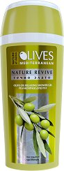 "Nature of Agiva Olives Nature Revive Olive Oil Relaxing Shower Gel - Релаксиращ душ гел от серията ""Olives"" -"