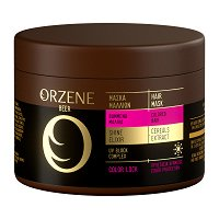 Orzene Beer Color Lock Hair Mask Colored Hair - Маска за боядисана коса -