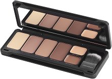 Profusion Cosmetics Contour Makeup Case - Палитра за контуриране на лице с четка -