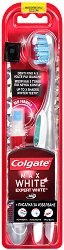 Colgate Max White Expert Toothbrush & Whitening Pen - Четка за зъби + избелваща писалка -