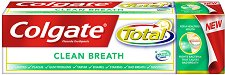 Colgate Total Clean Breath - Паста за зъби за свеж дъх -