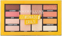Maybelline Lemonade Craze Eyeshadow Palette Makeup - Палитра сенки за очи - маска