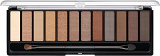 Manhattan Eyemazing Nude Edition Eye Contouring Palette - Палитра с 12 цвята сенки за контуриране на очи -