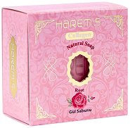 Harem's Natural Soap Rose - Натурален сапун с роза - сапун