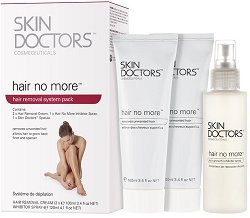 Skin Doctors Hair No More System Pack - Комплект за обезкосмяване - шампоан