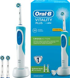 Oral-B Vitality Plus Cross Action Electric Toothbrush - Електрическа четка за зъби -