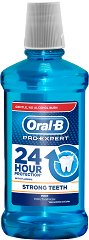 Oral-B Pro-Expert 24 Hour Protection Strong Teeth Mouthwash - Вода за уста за здрави зъби -