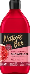 Nature Box Pomegranate Oil Shower Gel - Душ гел с масло от нар за суха кожа -
