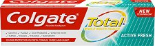 Colgate Total Active Fresh Toothpaste - Паста за зъби за свеж дъх -