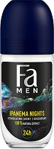 Fa Men Brazilian Vibes Ipanema Nights Roll-On Deodorant - Ролон дезодорант за мъже -