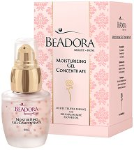 Beadora Bright Rose Moisturizing Gel Concentrate - Концентиран овлажняващ гел за лице -