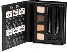IDC Color Professional Beauty Book Perfect Eyes - Палитра с гримове за очи -