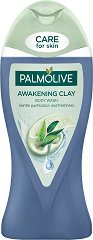 Palmolive Awakening Clay Body Wash - Душ гел за тяло с глина и евкалипт -