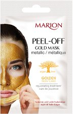 Marion Golden Skin Care Peel-off Gold Mask - Отлепяща се маска за лице - крем