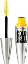 Maybelline The Colossal Platinum Black Mascara - Спирала за обемни мигли -
