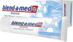 Blend-a-med 3D White Whitening Therapy Enamel Care - Избелваща паста за зъби -