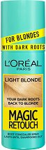 L'Oreal Magic Retouch For Blondes with Dark Roots - Спрей за изрусена коса за прикриване на тъмни корени - спирала