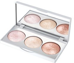Golden Rose Strobing Highlighter Palette - Палитра хайлайтъри за лице - пудра