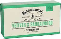 "Scottish Fine Soaps Men's Grooming Vetiver & Sandalwood Cleansing Bar - Луксозен бар сапун за мъже от серията ""Men's Grooming"" -"