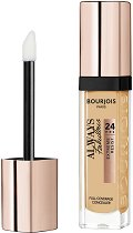 Bourjois Always Fabulous 24Hrs Full Coverage Concealer - Течен коректор за лице с високо покритие -