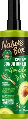 Nature Box Avocado Oil Spray Conditioner - Спрей балсам с масло от авокадо за лесно разресване на косата - душ гел